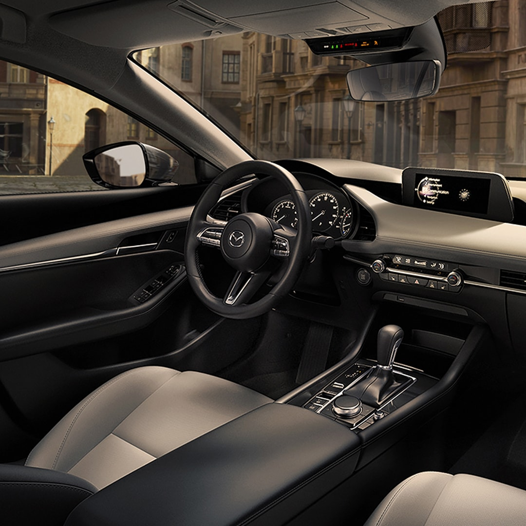 2019 Mazda3 Sedan interior design craftsmanship